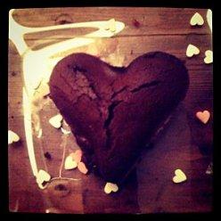 Coeur fondant caramel beurre salé