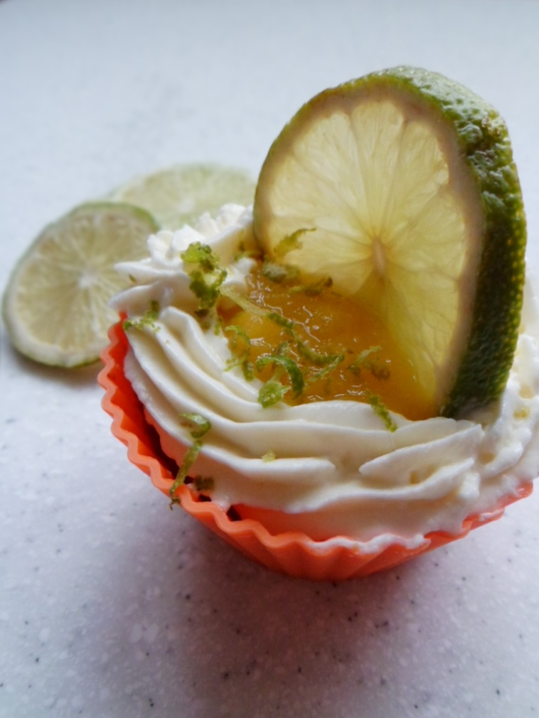 Cup Cake Coeur Citron