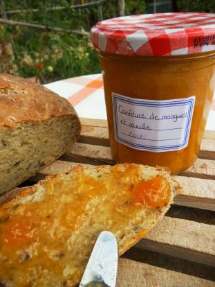 confiture de mangues et vanille