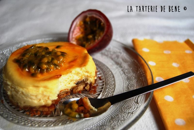 Cheese cake au fruit de la passion wr