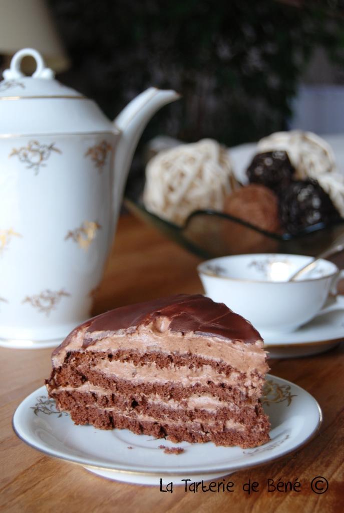 gâteau au chocolat a