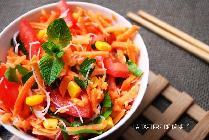 Salade de patate douce crue façon thaï 2