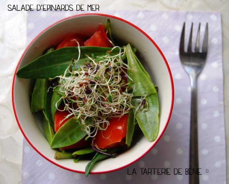 salade d'epinards de mer