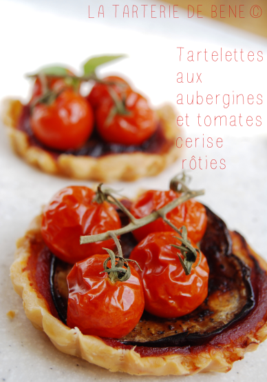 tartelettes aux aubergines et tomates cerises r ties make me green. Black Bedroom Furniture Sets. Home Design Ideas
