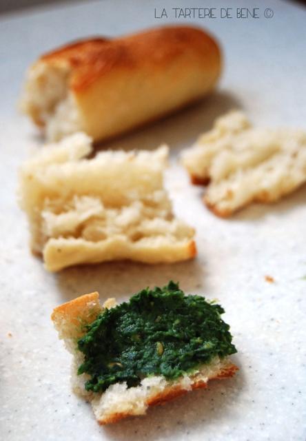 pesto fanes de carottes et pois cassés 3 - Copie