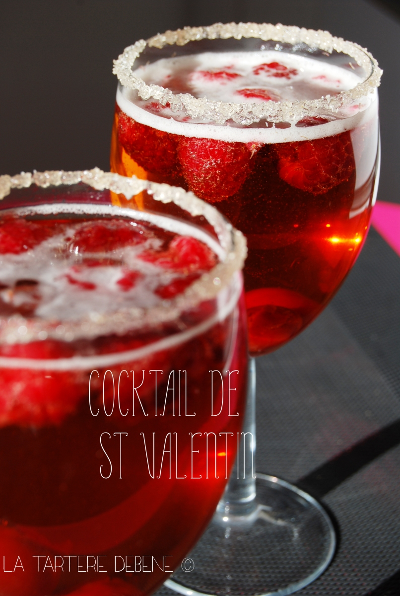 Cocktail de St Valentin