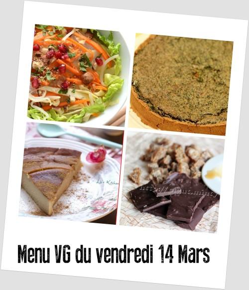 menu 14 mars