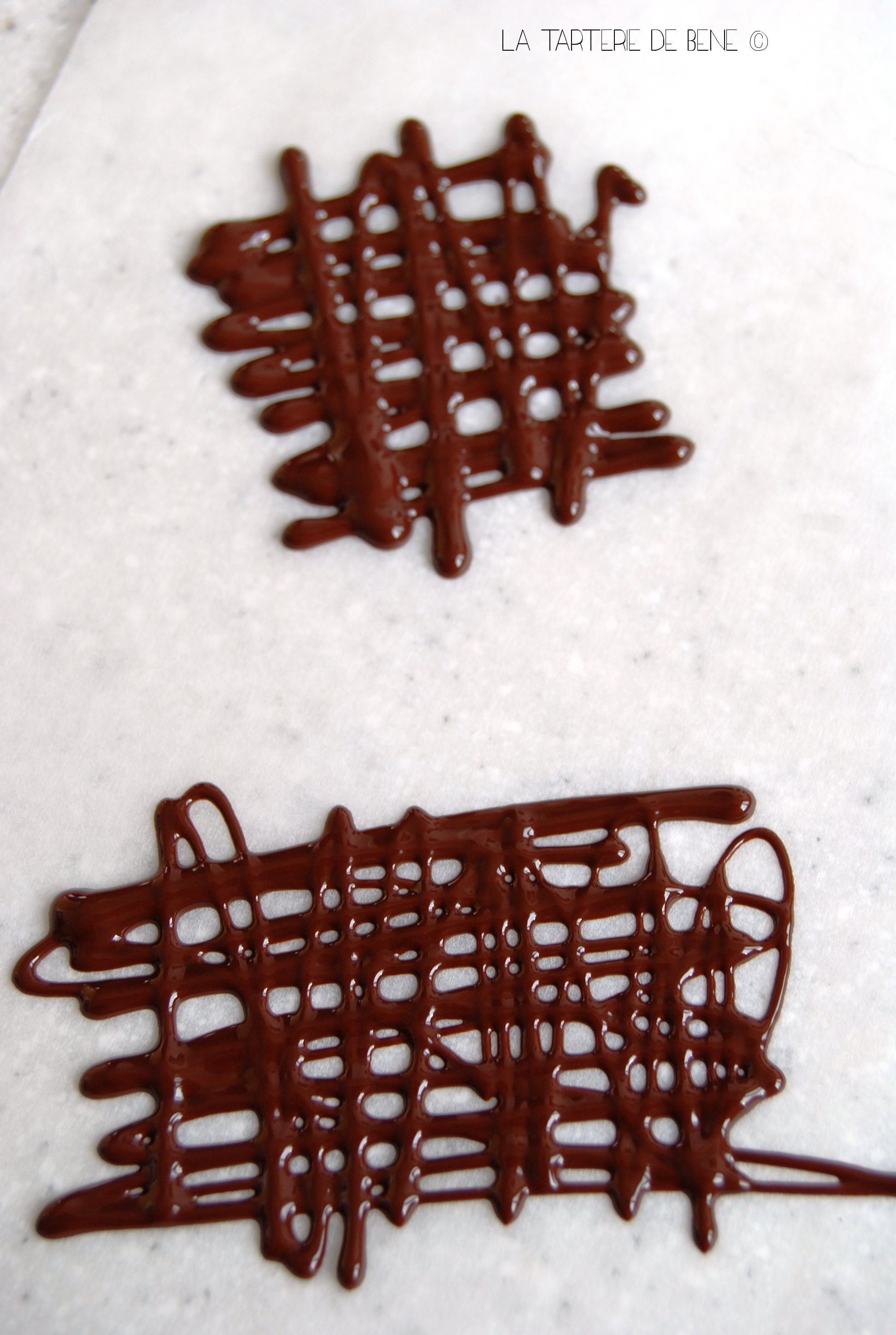 Faire des d cors en chocolat make me green for Decoration maison pour buche de noel