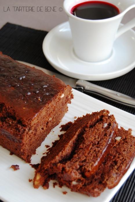 Cake au chocolat et farine de châtaigne wr