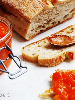 Confitures aux abricots