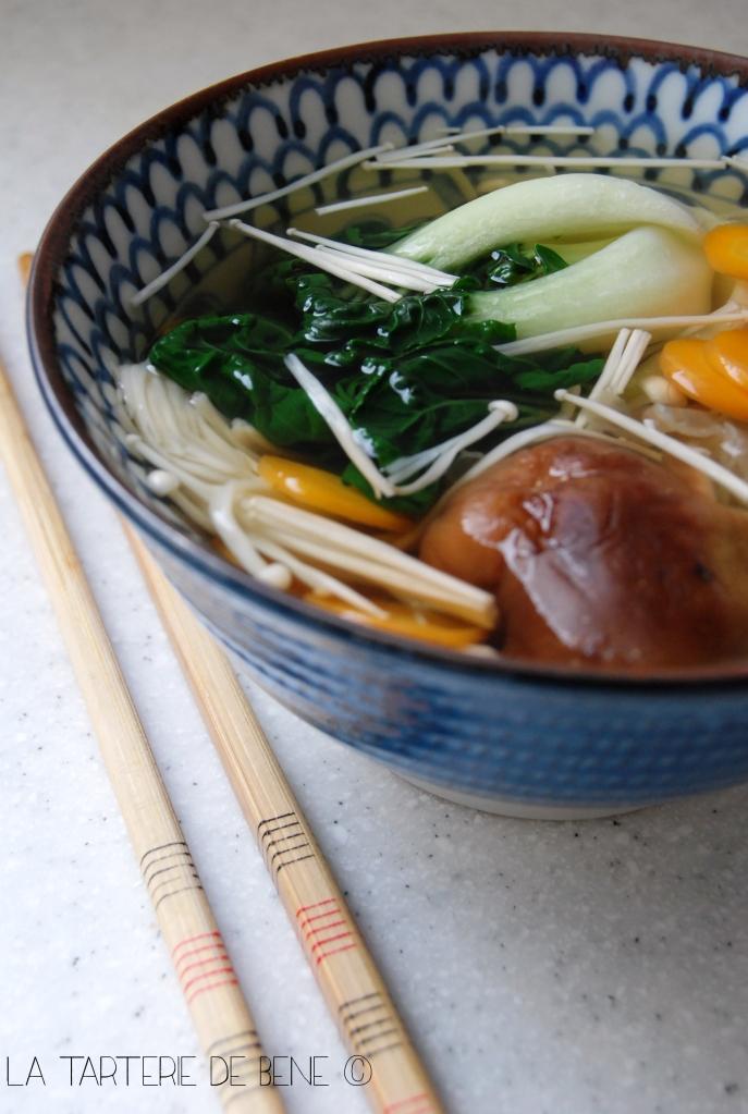 soupe asiatique detox