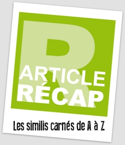 article recap similis carnés