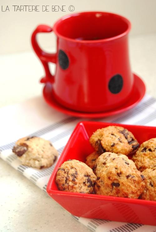 cookies chocolat noix de coco wr