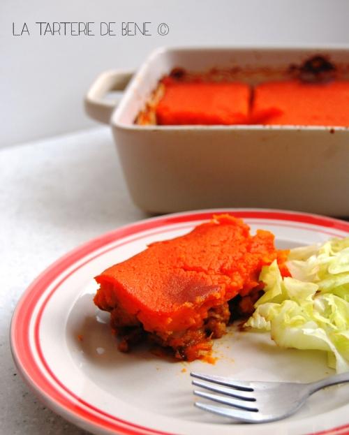 Hachis parmentier de carottes wr