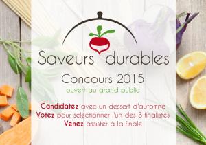 Saveurs Durables 2015