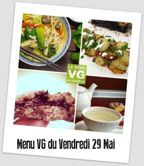menu VG 29 WR