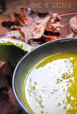 Soupe de kale et potiron