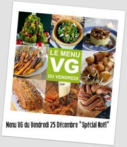 menu VG du 25 décembre