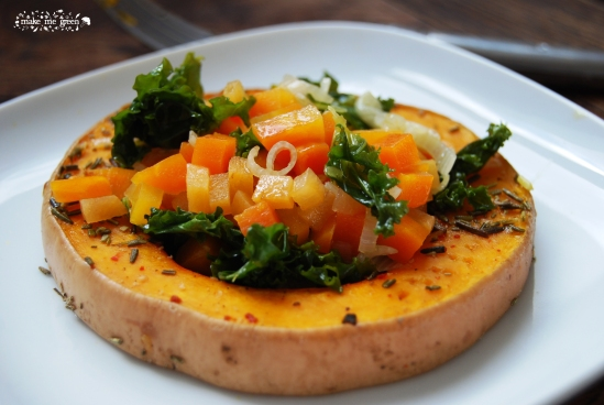 Butternut roti et ses petits légumes d'hiver 1